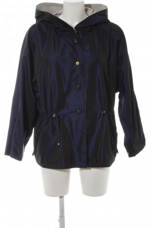 Max Mara Reversible Jacket dark blue-oatmeal casual look