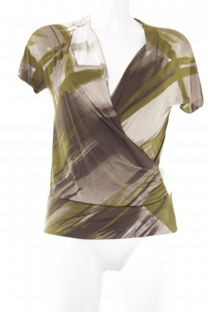 Max Mara Wickelshirt abstraktes Muster Street-Fashion-Look