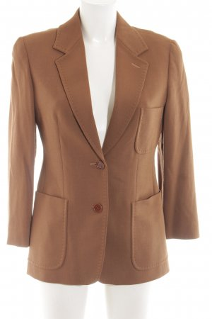 Max Mara Wool Blazer bronze-colored business style