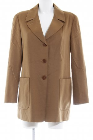 Max Mara Blazer in lana color cammello stile casual