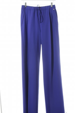 Max Mara Woolen Trousers blue casual look