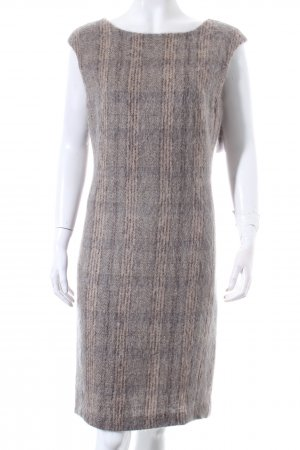 Max Mara Wollkleid grau-beige Vintage-Look
