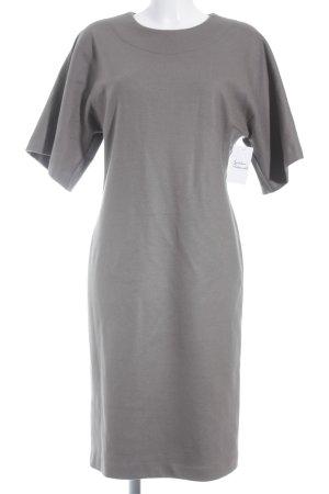 Max Mara Vestito di lana marrone-grigio stile casual