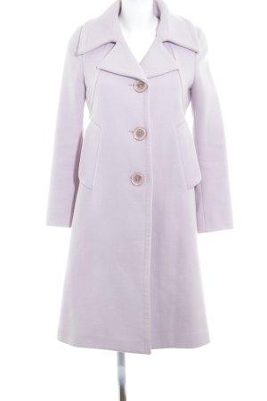 Max Mara Cappotto in lana malva elegante