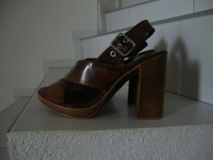 MAX High Heel Sandal bronze-colored-camel leather