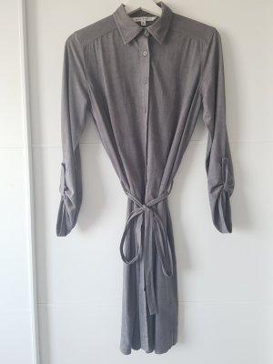 MaxStudio Vestido tipo blusón gris