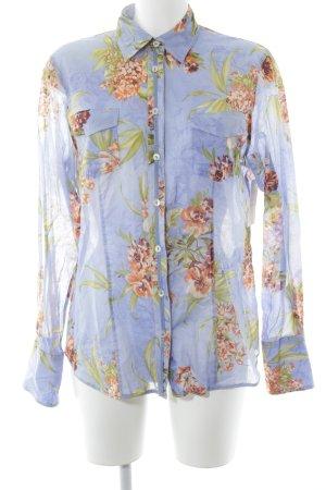 Max Volmáry Hemd-Bluse florales Muster Romantik-Look