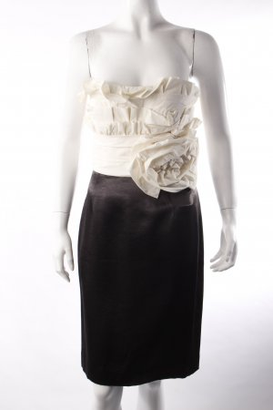 maxandcleo Bustierkleid schwarz-weiß
