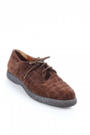 Maxbally Lace Shoes brown casual look