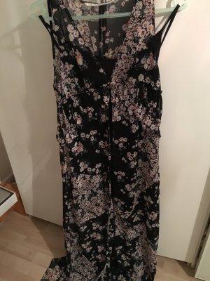 Maxi Chiffon Kleid mit Unterkleid