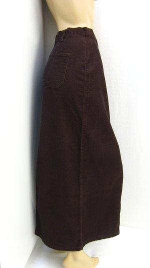 Boysen's Falda de tubo marrón Algodón