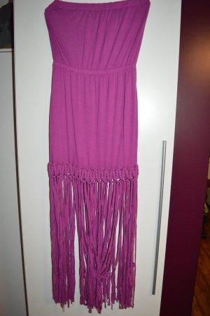 Maxi Hippie Boho Ombre Kleid Sommerkleid Gr. M von River Island