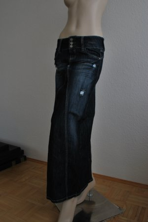 Maxi Jeans Rock im used-Look von ALMOST FAMOUS