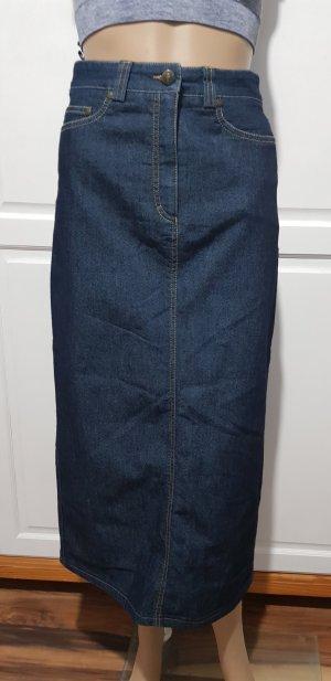 maxi jeansrock lang
