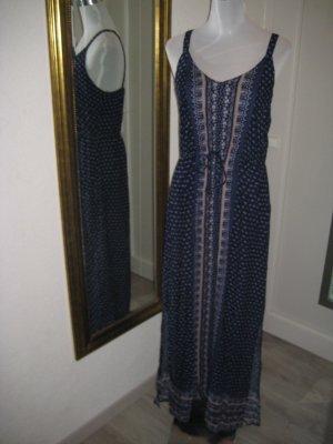 Maxi Kleid dunkelblau Ethno Bohoo Gr 44