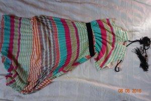 Vestido largo multicolor Poliéster