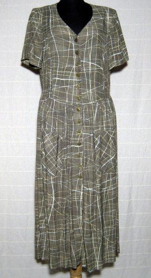 Maxi Kleid Größe 40 Grün FABIANI
