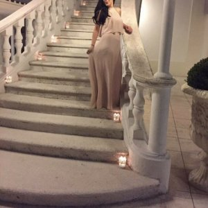 Maxi Kleid in Nude
