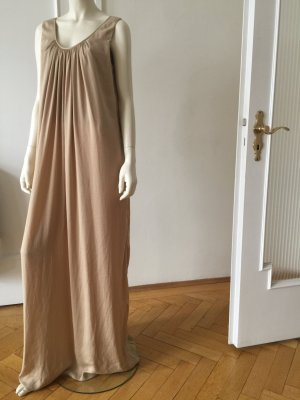 Maxi Kleid light gold