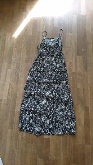 maxi Kleid mit Azteken Muster