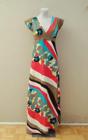 Maxi-Kleid mit Blumenprint