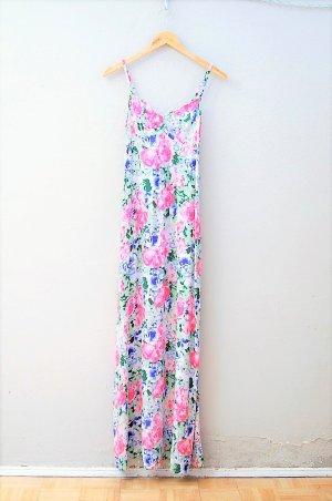 Maxi Kleid mit Rosen