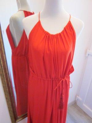 Maxi Kleid Rot Gr 44