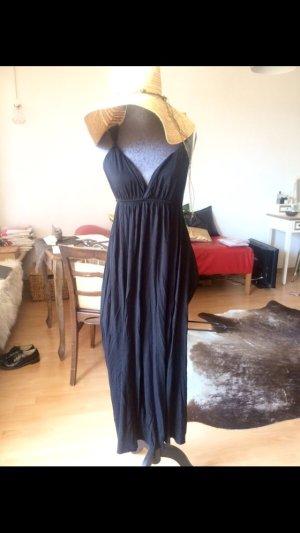 Maxi Kleid schwarz schöner Rücken Größe S