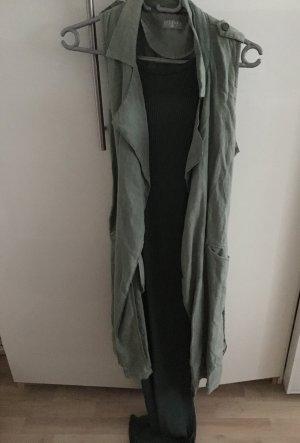 Maxi Kleid und Trenchcoat Weste von Made in Italy