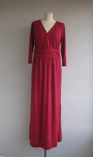 b.p.c. Bonprix Collection Maxi abito rosso-rosso scuro Viscosa