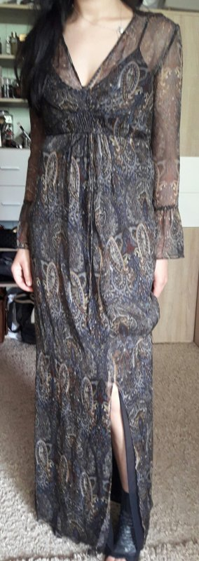 Maxi Kleid von Mango Neu