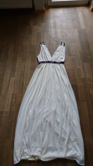maxi Kleid von Zara in weiß