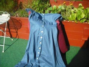 Shirtwaist dress steel blue