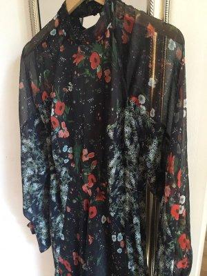 Maxi Mango Kleid mit Blumenmuster