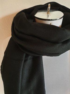 Pashmina zwart Wol