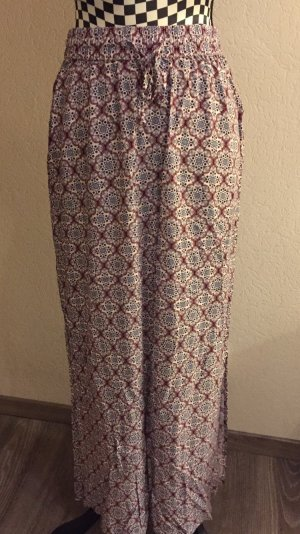 Blue Motion Maxi Skirt multicolored