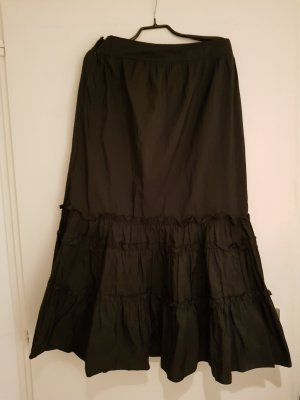 Skirt black polyester