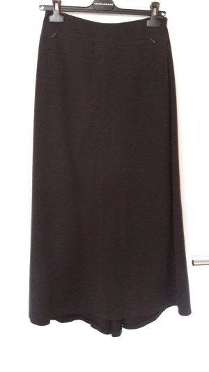 René Lezard Maxi Skirt black brown