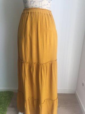 Zara Falda amarillo neón-amarillo
