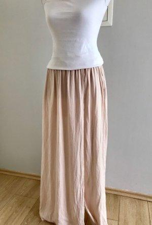 Zara Maxi gonna rosa pallido