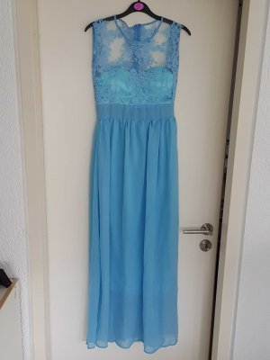 Maxi- Sommerkleid blau