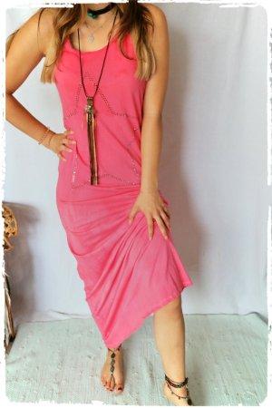 Maxi Dress raspberry-red-pink