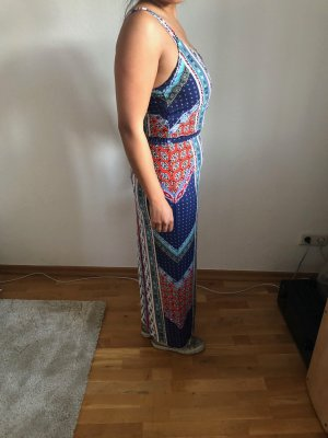 Maxidress bunt