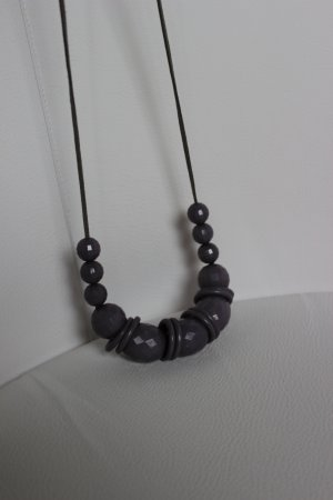 Sacha london Collier Necklace grey synthetic material