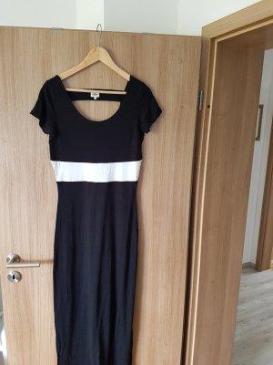 Bandolera Maxi abito bianco-nero