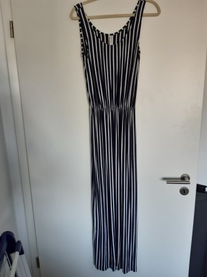 BlendShe Maxi Dress white-dark blue