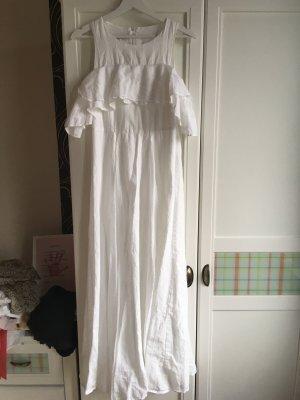 Maxi abito bianco Cotone