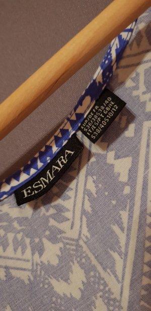 Esmara Maxi Dress white-neon blue