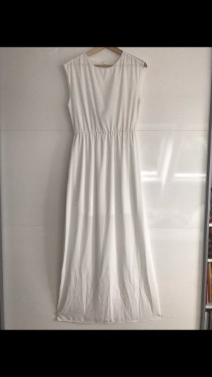 Color Me Red Maxi Dress white