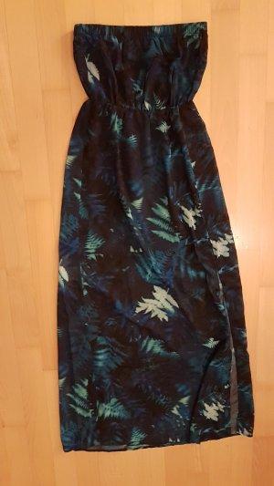 H&M Beach Dress blue-dark green